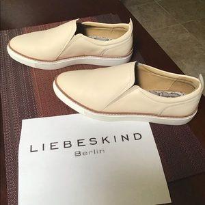 Liebeskind Leather Slip On Cream Sneaker EU 40